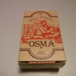 ALUM BLOCK NATURAL STONE OSMA