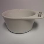 GOLDDACHS CERAMIC SHAVING BOWL WHITE 1
