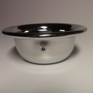 MUHLE METALIC SHAVING BOWL