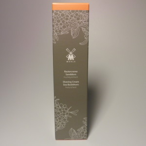 MUHLE SHAVING CREAM TUBE BUCKTHORN