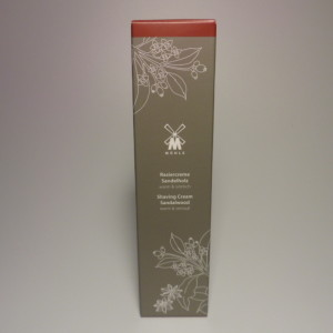 MUHLE SHAVING CREAM TUBE SANDALWOOD