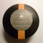 MUHLE SHAVING SOAP BUCKTHORN + BLACK LACQUERED WOODEN BOWL