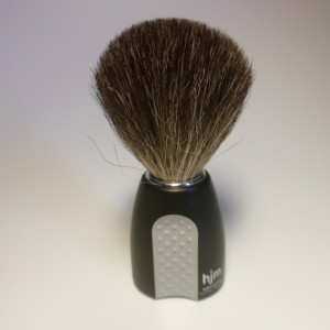 HJM BRUSH BEST BADGER BLACK