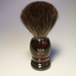HJM BRUSH BEST BADGER FAUX TORTOISE