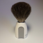 HJM BRUSH BEST BADGER WHITE