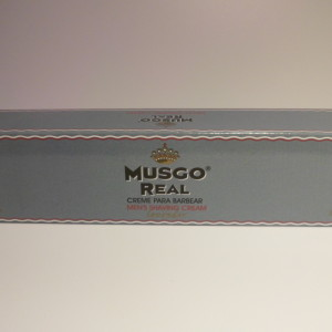 MUSGO REAL SHAVING CREAM LAVENDER