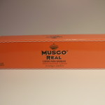 MUSGO REAL SHAVING CREAM ORANGE AMBER