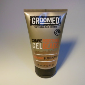 GROOMED SHAVE GEL BLACK PEPPER