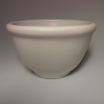 GOLDDACHS CERAMIC SHAVING BOWL WHITE