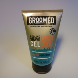 GROOMED SHAVE GEL PEPPERMINT